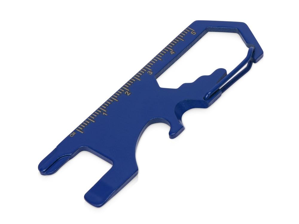 Мультиинструмент Carabiner, синий
