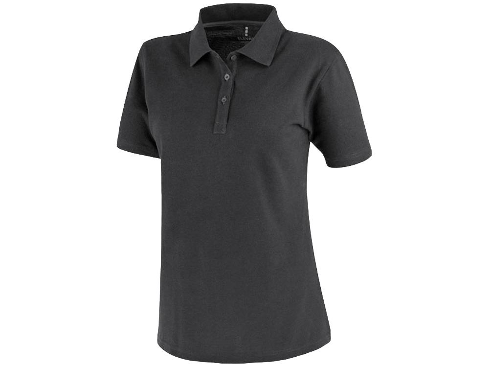Рубашка поло Primus женская, антрацит