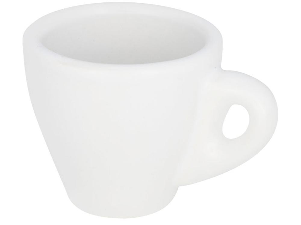 Белая кружка для эспрессо Perk, белый
