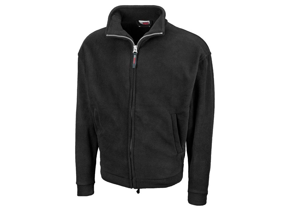 Куртка флисовая Nashville мужская, черный