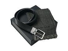 Подарочный набор: шарф шерстяной, ремень (арт. LPAE426)