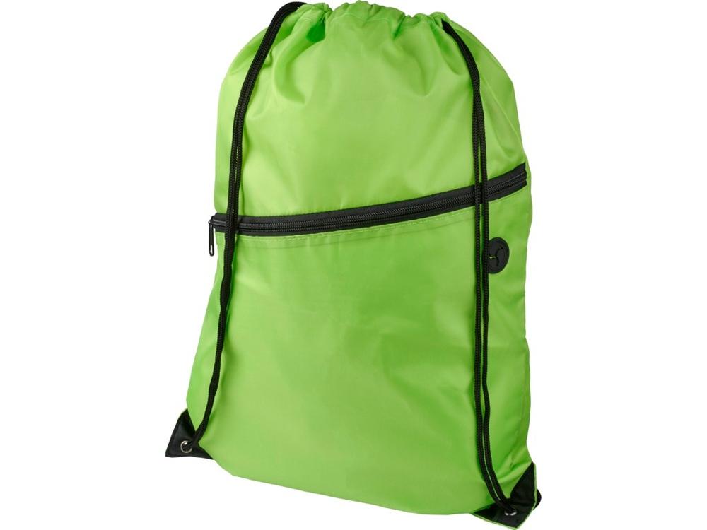 Рюкзак Oriole на молнии со шнурком, лайм