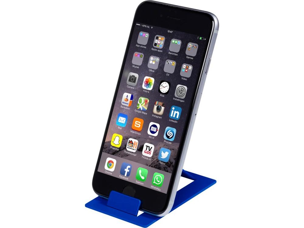 Складывающаяся подставка для телефона Hold, синий