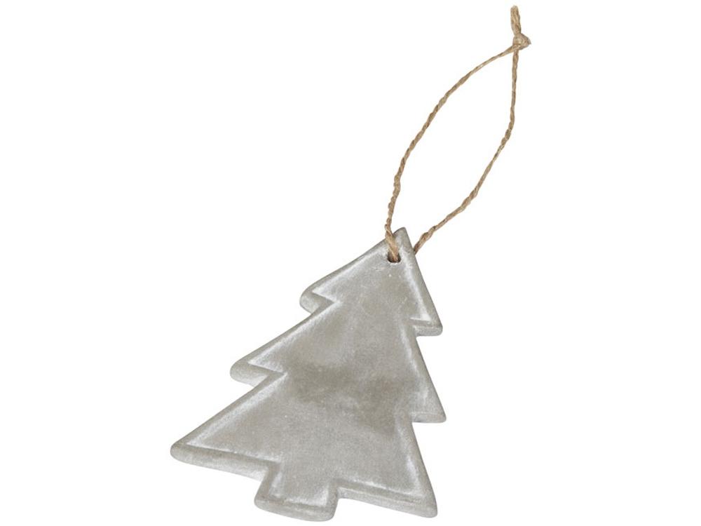 Рождественское украшение для елки, серый