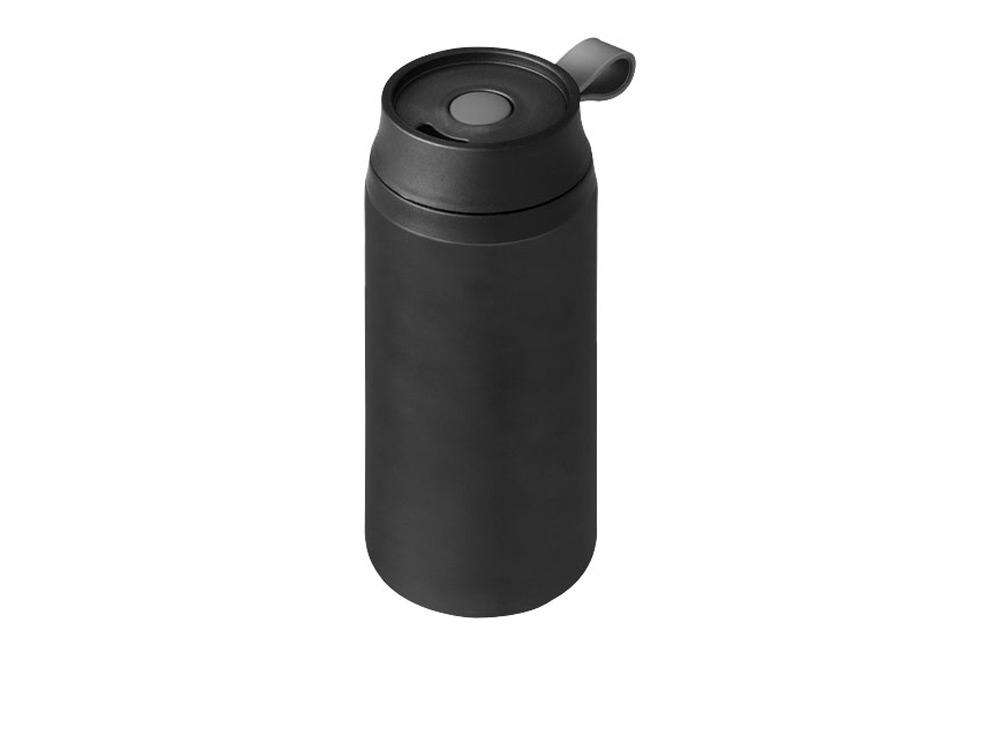Термостакан герметичный Flow, черный
