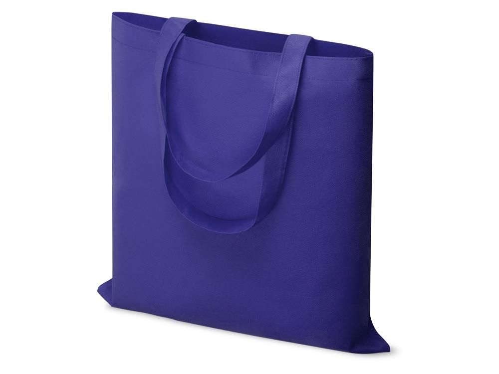 Небольшая нетканая сумка Zeus для конференций, ярко-синий