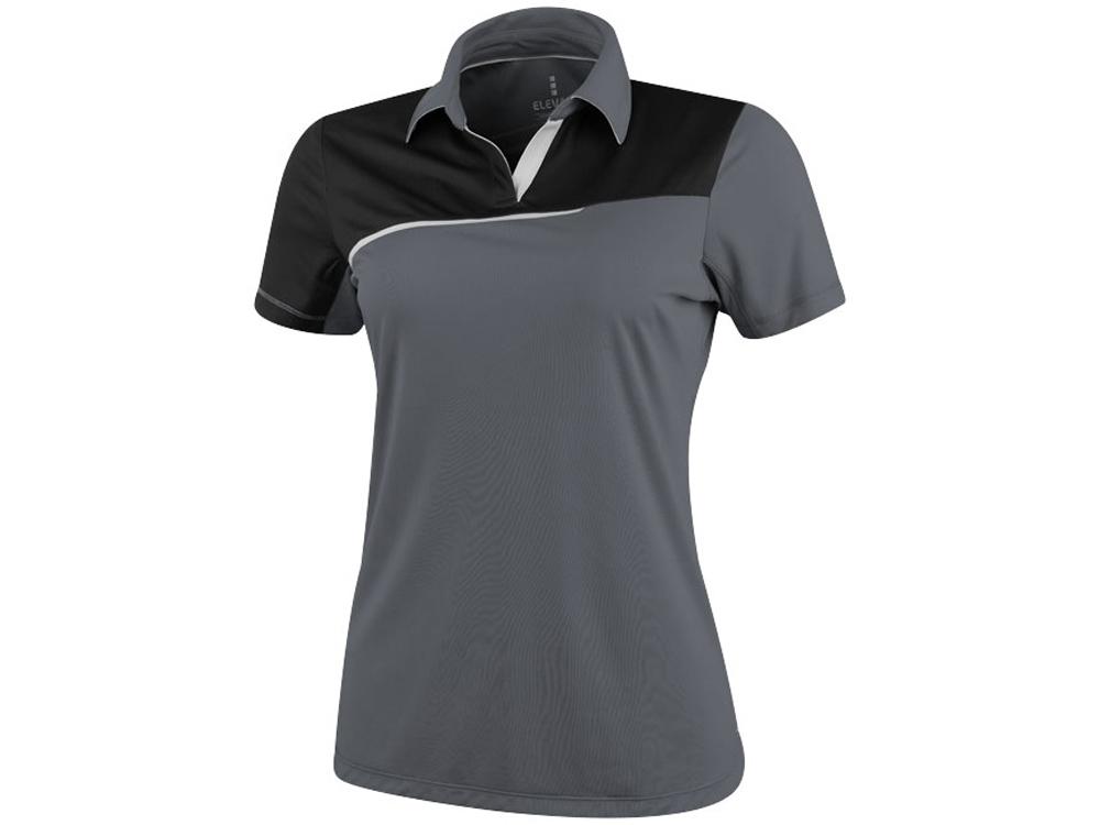 Рубашка поло Prater женская, серый/черный