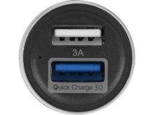 Адаптер автомобильный USB с функцией быстрой зарядки QC 3.0 «TraffIQ» (арт. 985020), фото 3