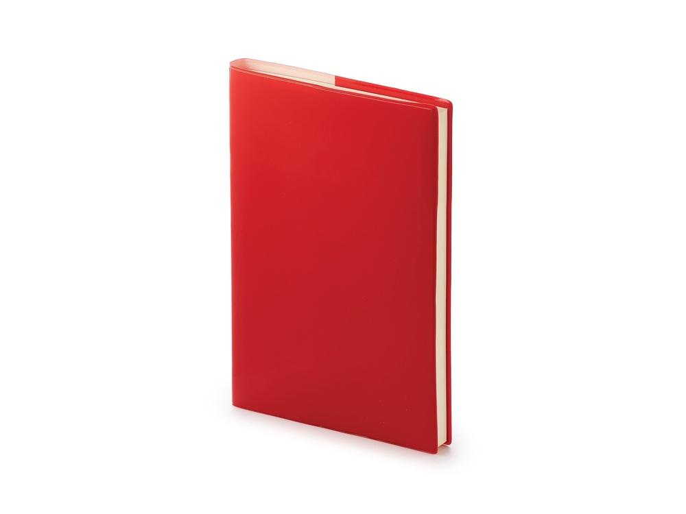 Ежедневник недатированный А5 Glossy Pro, красный
