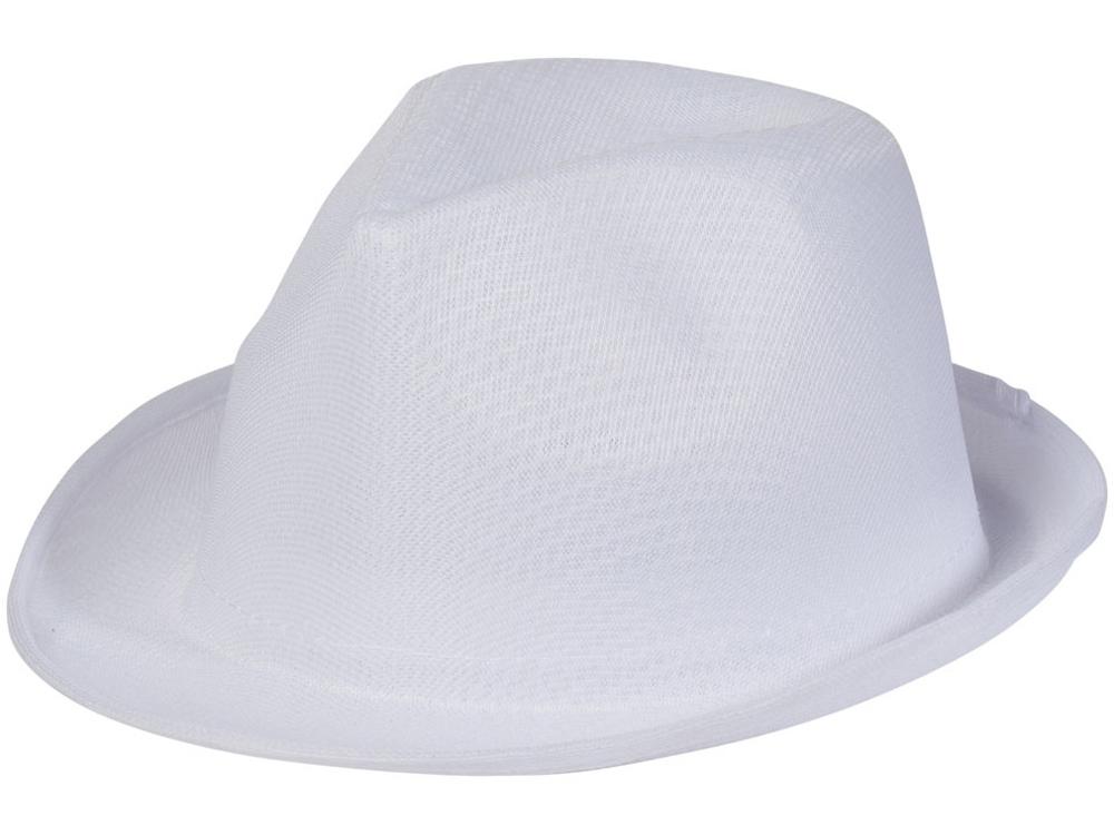 Шляпа Trilby, белый