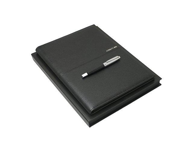 Подарочный набор Holt: папка A4, ручка-роллер