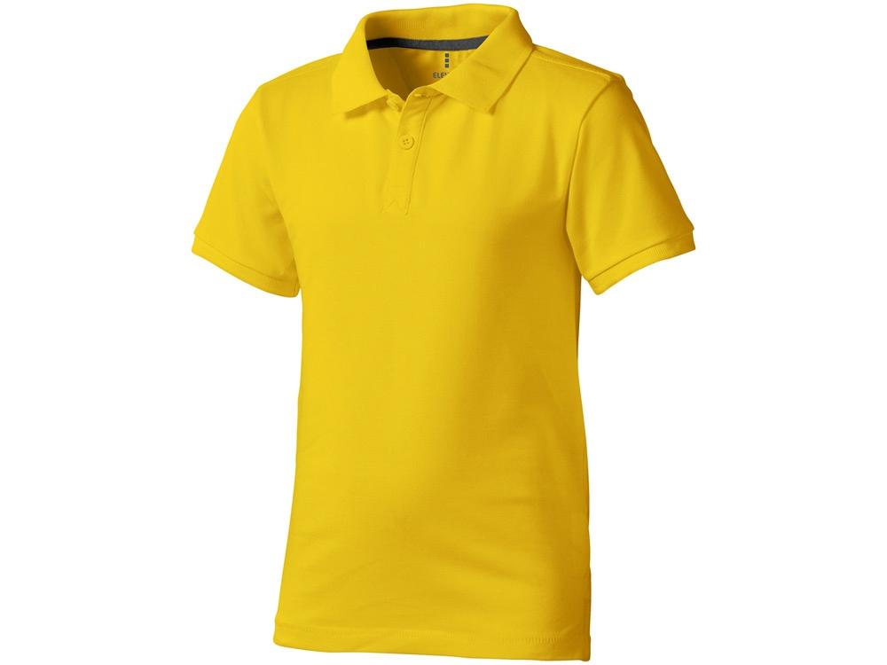 Рубашка поло Calgary детская, желтый