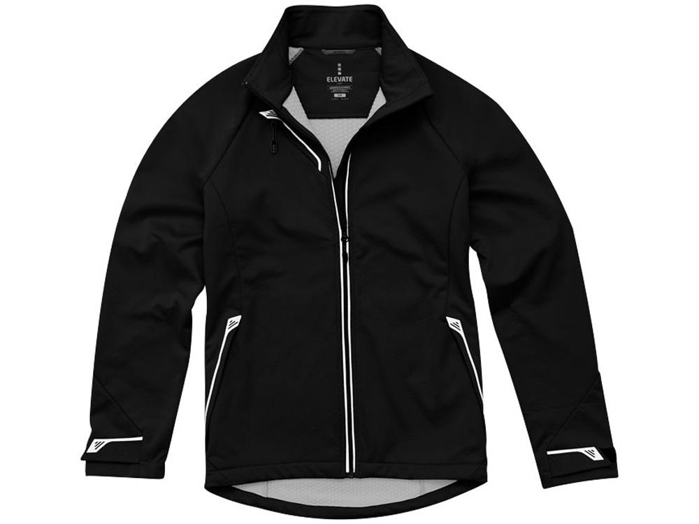 Куртка софтшел Kaputar женская, черный