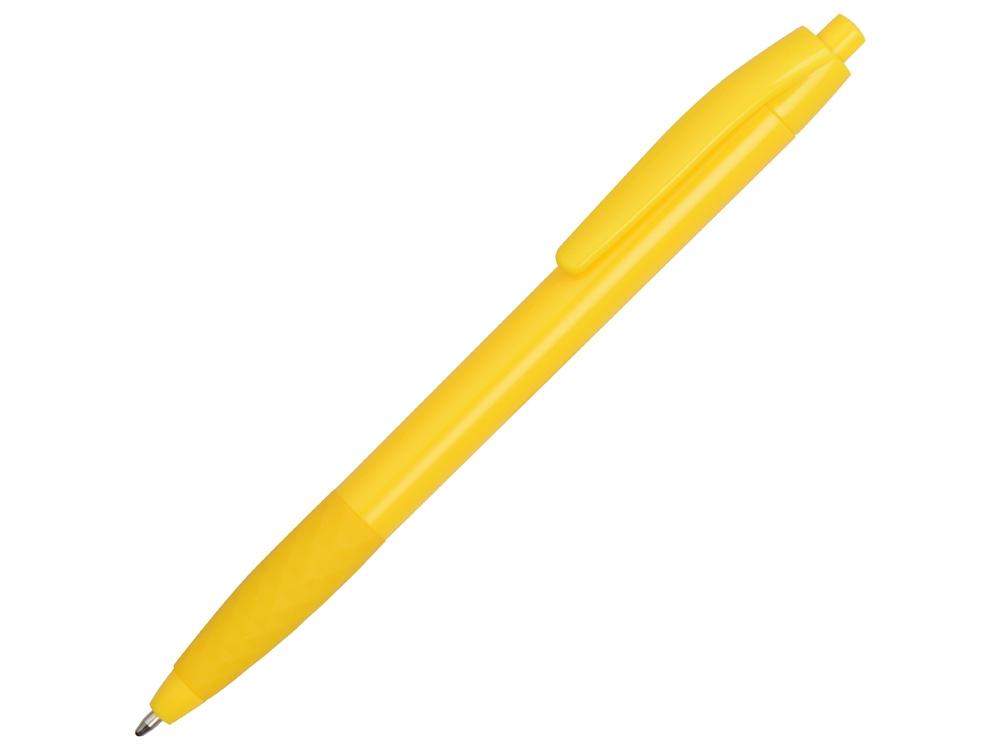 Ручка пластиковая шариковая Diamond, желтый