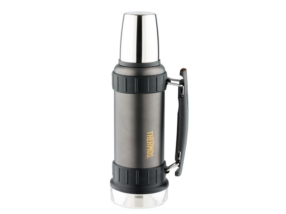 Термос из нерж. стали тм THERMOS 2520 Stainless Steel Vacuum Flask 1.2L, серый