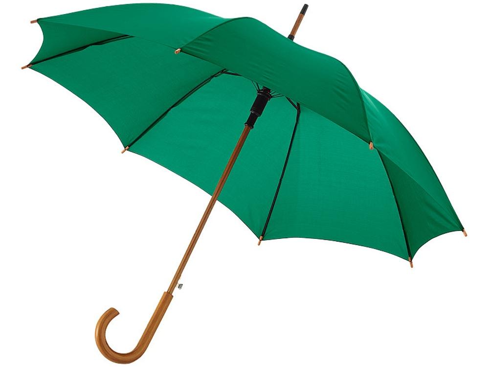 Зонт Kyle полуавтоматический 23, зеленый