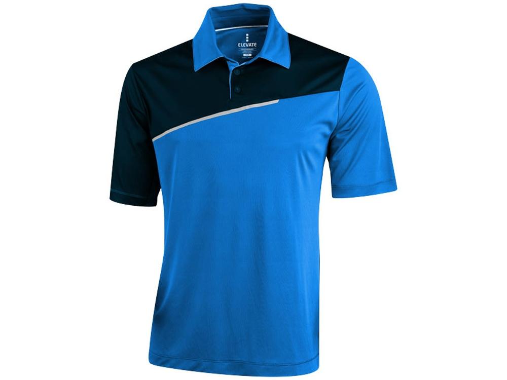 Рубашка поло Prater мужская, синий/темно-синий