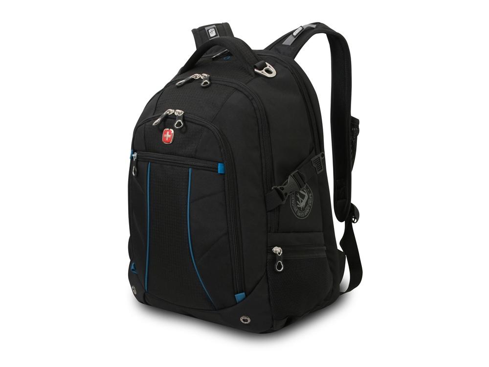 Рюкзак 32л с отделением для ноутбука 15''. Wenger, синий/черный