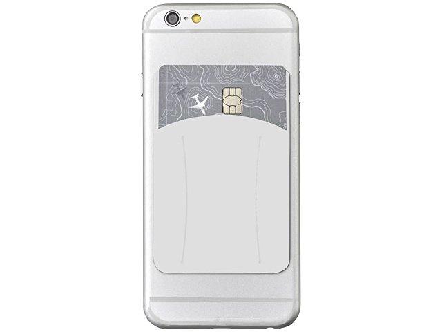 Картхолдер для телефона с отверстием для пальца