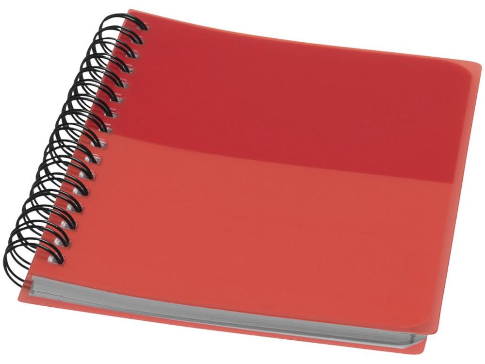 Блокнот Colour Block А6, красный