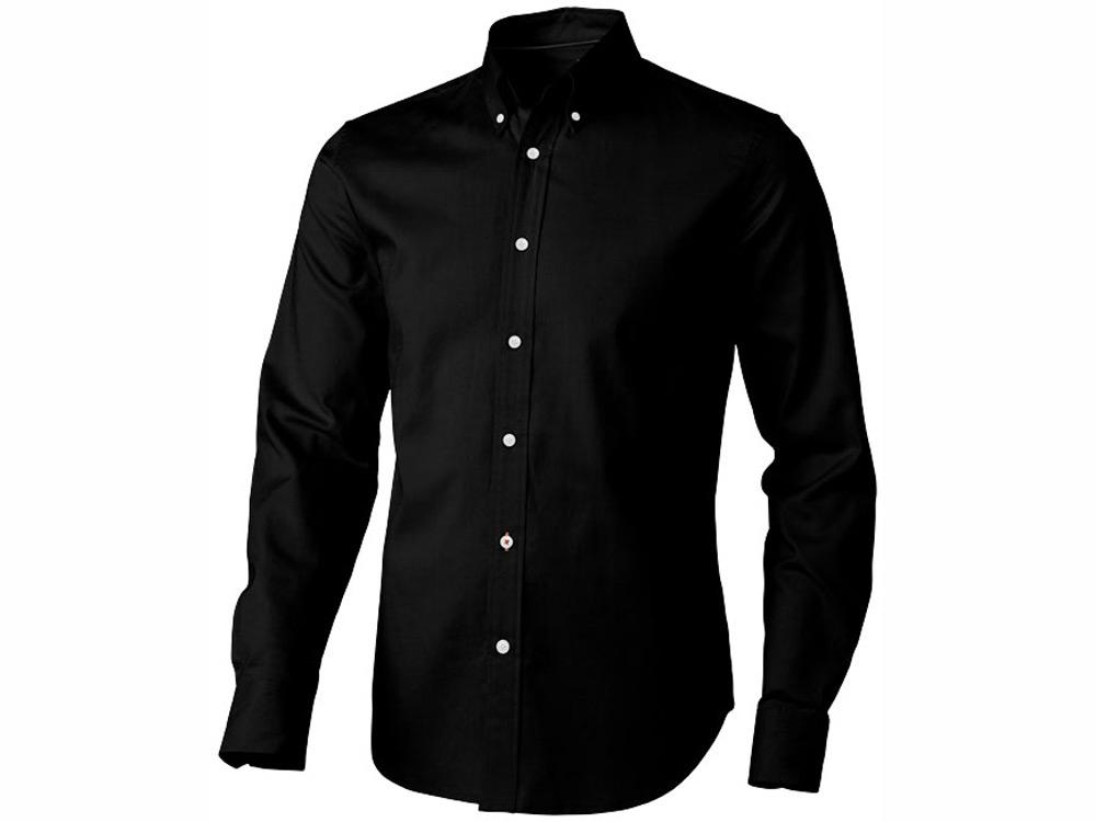 Рубашка Vaillant мужская с длинным рукавом, черный