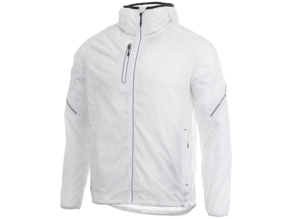 Куртка складная светоотражающая Signal мужская, белый