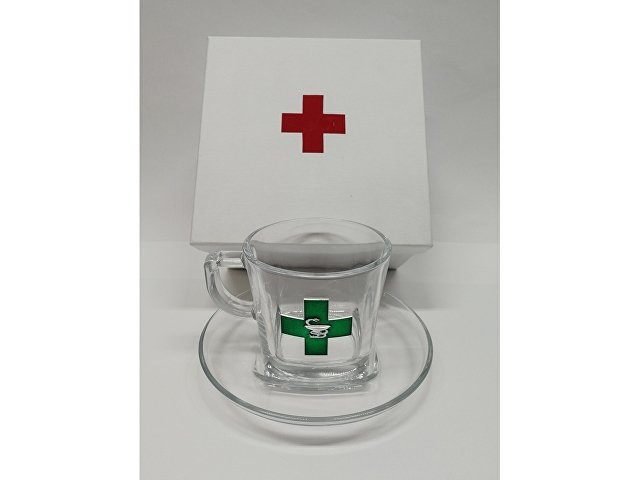 Чайная пара подарочная  «Аптечная фиерия» (арт. 6187)