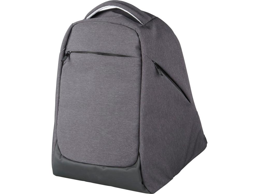 Рюкзак Convert для ноутбука 15 с защитой от кражи, темно-серый