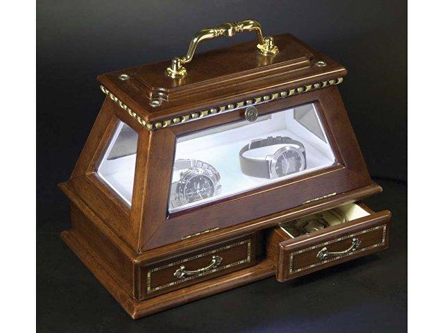 Шкатулка для часов «Герцог», коричневый