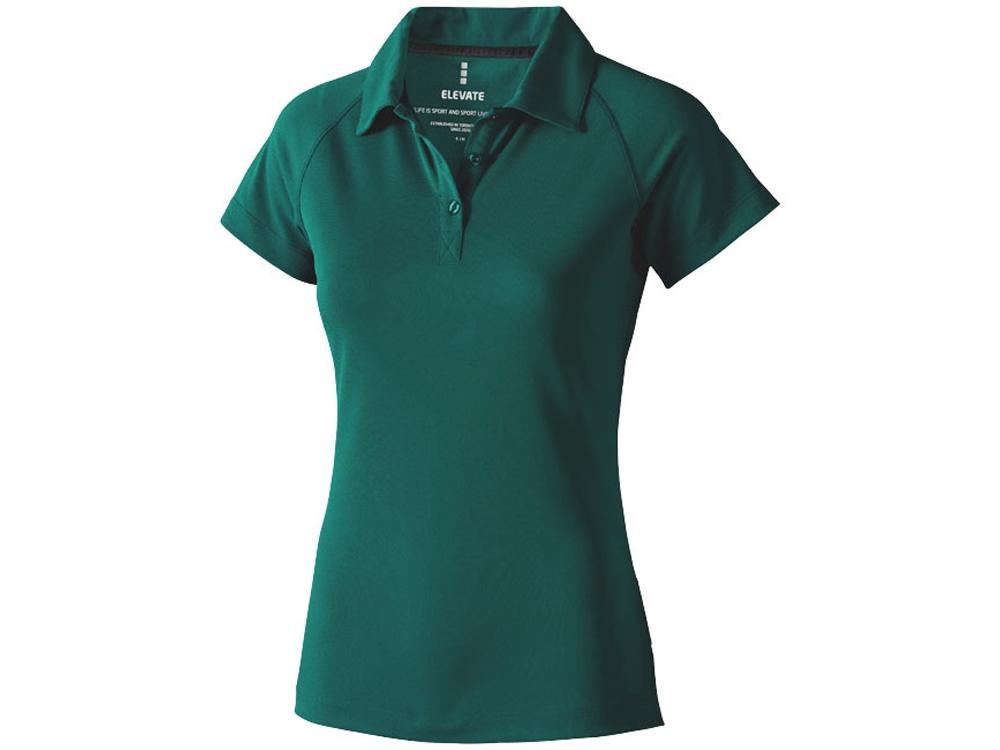 Рубашка поло Ottawa женская, изумрудный