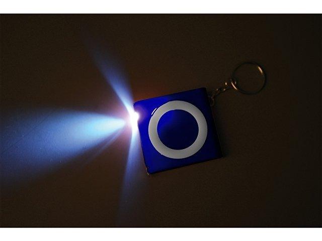 Брелок-рулетка с фонариком «Книга», 1м