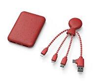 Портативное зарядное устройство «BioPack» c кабелем «Mr. Bio», 5000 mAh (арт. 965113), фото 2