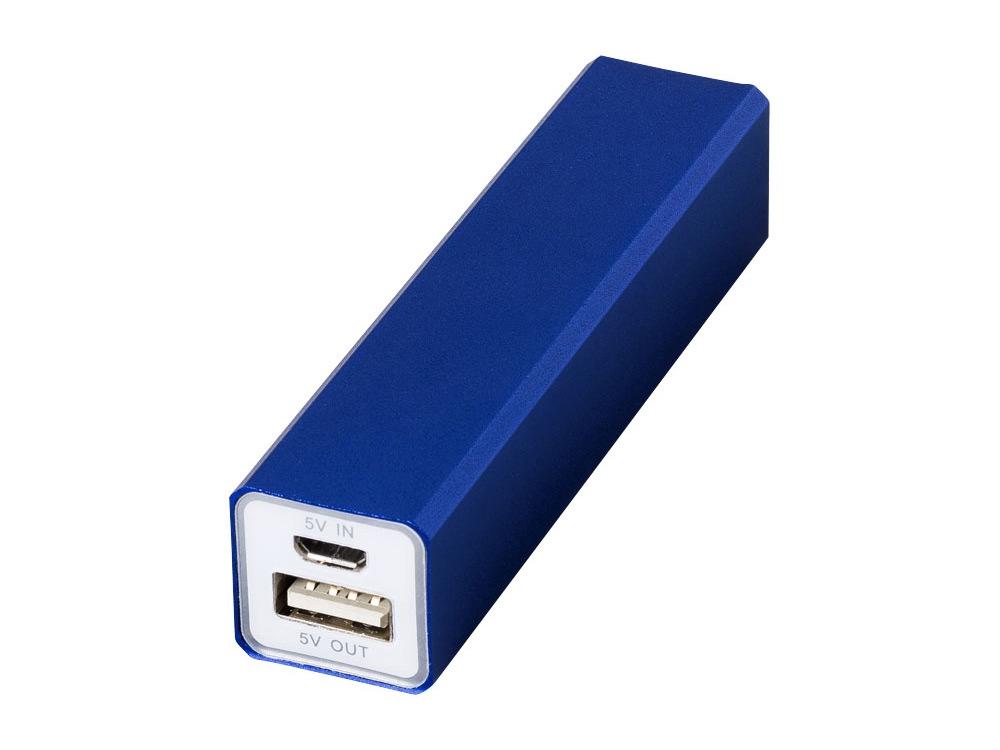 Портативное зарядное устройство Volt, синий классический